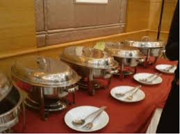 how to set a buffet table with chafing dishes 6 steps to setting a buffet table at your next event