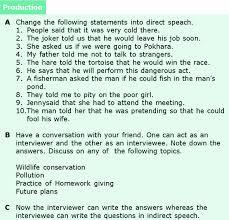 grade 6 grammar lesson 13 direct and indirect speech 7 grade 6