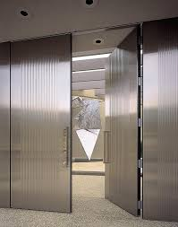 Steel Clad Exterior Doors Stainless Steel Doors Architectural Forms Surfaces