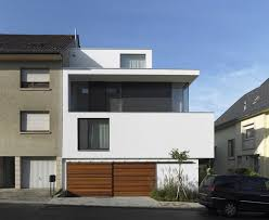 modern roof designs dwell hillside home stained plywood newest