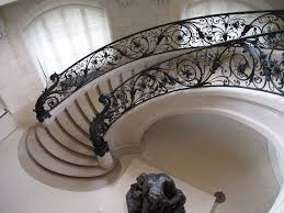 Wrought Iron Banister Rails Traditional Wrought Iron Handrail Med Art Home Design Posters