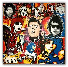 The Inner Light Beatles Unique Art Funky Vw Art Bespoke Groovy Rock Music Icon Guitar God