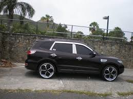 hyundai santa fe 2007 black smithbeatz 2007 hyundai santa fe specs photos modification info