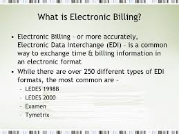 pclaw u0026 electronic billing ppt download