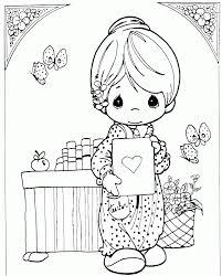 precious moments book coloring