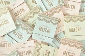 wedding matches modern matchbox wedding details favors