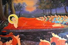 buddha u0027s biography painting on wall of temple wat sri sawat
