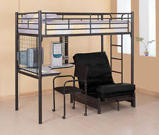 High Sleeper With Desk And Futon Loft Beds Desks Full Size Plans Twin New Used Ebay