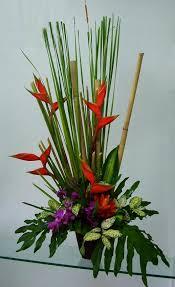 tropical flower arrangements gardens and landscapings decoration