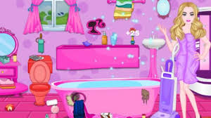 Messy Bathroom Barbie Messy Bathroom Cleaning Play The Game Online