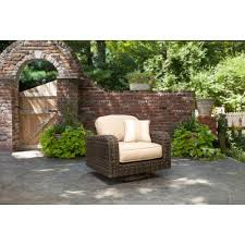 Outdoor Table Ls Brown Northshore Patio Motion Lounge Chair In Harvest With