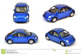 blue volkswagen blue vw new beetle car isolated royalty free stock image image
