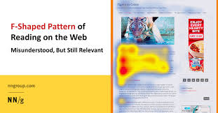 Homepage Design Rules by F Shaped Pattern Of Reading On The Web Misunderstood But Still