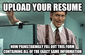 Meme Online - scumbag online job application meme guy