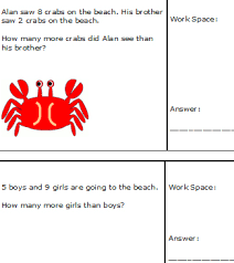 subtraction subtraction word problems worksheets 1st grade