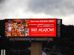 spirit halloween the meadows colorado billboard creatives mile high outdoor