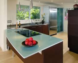 enchanting glass kitchen countertops pros and cons easy kitchen