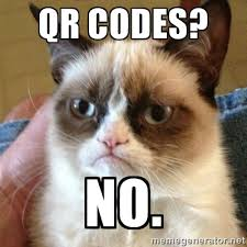 Meme Qr Code - the life and death of the qr code part i life peatix blog