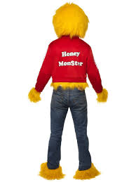 Moshi Monsters Halloween by Honey Monster Costume Halloween Fancy Dress Sugar Puffs 80s