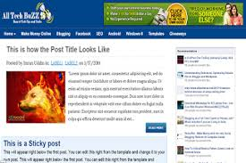 top 10 free blogger templates for blogging best free premium looking