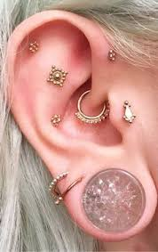 awesome cartilage earrings 15 awesome ear piercings idea for women piercings and tatoos