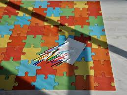 tappeto di gomma per bambini puzzle tappeto su misura
