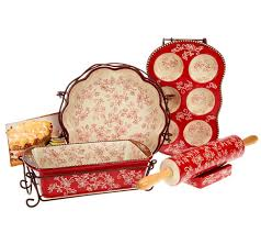 temp tations sweet u0026 savory 10 piece baking set page 1 u2014 qvc com