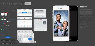 15 free psd templates for your next ios 7 app web u0026 graphic