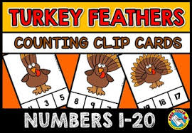 fall activities kindergarten thanksgiving preschool count turkey