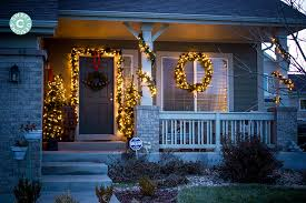 Christmas Decorations Ideas Outdoor Easy Outdoor Christmas Decorating Ideas Cubicle Christmas