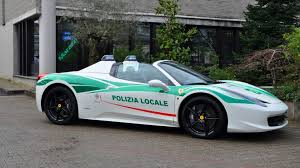 ferrari custom paint mafia u0027s confiscated ferrari 458 turned into police car