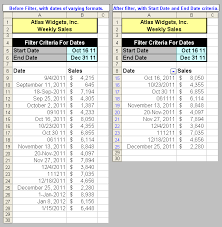 Which Date Is Tom S Tutorials For Excel Filtering Dates Microsoft Excel