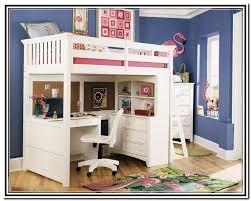 Wooden Loft Bed With Desk Underneath Wooden Loft Bed With Desk Most Recommended Space Available