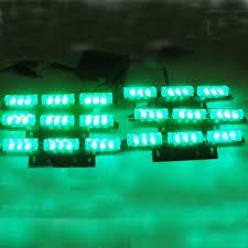 strobe light light bulb car 6x9 led 54led car truck emergency flashing strobe light ems