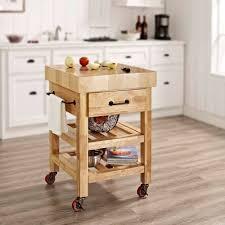 crosley furniture kitchen cart crosley furniture marston butcher block kitchen cart walmart