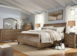 bedroom set ashley furniture ashley furniture b659 trishley traditional queen or king sleigh bed