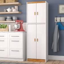 wayfair kitchen storage cabinets charlton home arbyrd storage cabinet 72 kitchen pantry