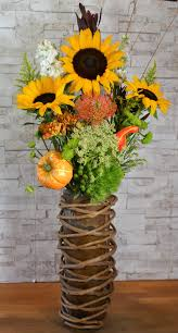 thanksgiving in a bamboo vase in irvine ca flower synergy