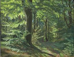 forest painting redone wetcanvas