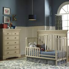 Convertible Crib Nursery Sets by Bedroom Espresso Transitional Wood Convertible Crib With Bedding