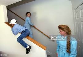 Sliding Down A Banister Slide Down Bannister Stock Photos And Pictures Getty Images