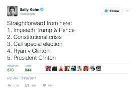 Tweet Meme - straightforward from here impeach trump pence tweet memes