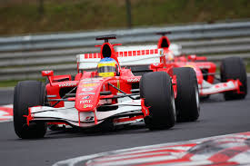 martini racing ferrari ferrari 248 on slicks formula1