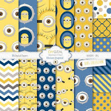 minion wrapping paper 7 best minions images on birthday party themes
