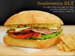 gourmet turkey southwestern blt gourmet turkey sandwich