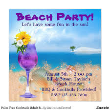 free beach party invitations beach party invitations wording