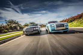 roll royce rollos 2014 rolls royce ghost vs 2014 bentley flying spur comparison