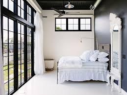 Black Trim Windows Decor White Windows Trim Bedroom Industrial With Reading L