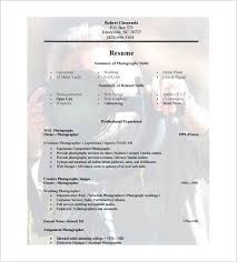 free pdf resume templates download photographer resume template u2013 10 free word excel pdf format