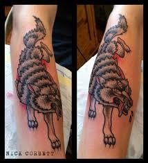 view sailor jerry wolf tattoos in inkedmag inkedmag